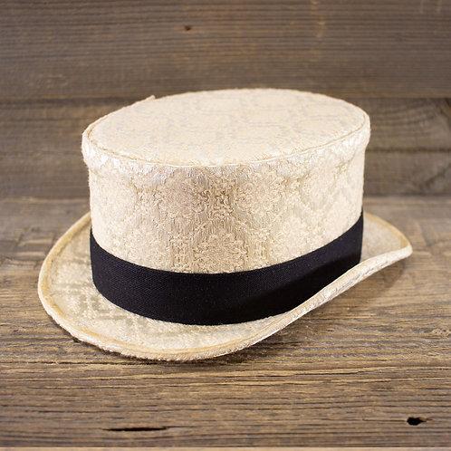 Top Hat - Brocade Cream