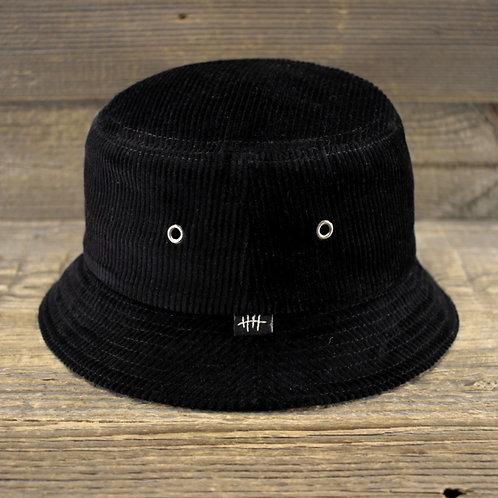 Bucket Hat  - BLACK CORDUROY
