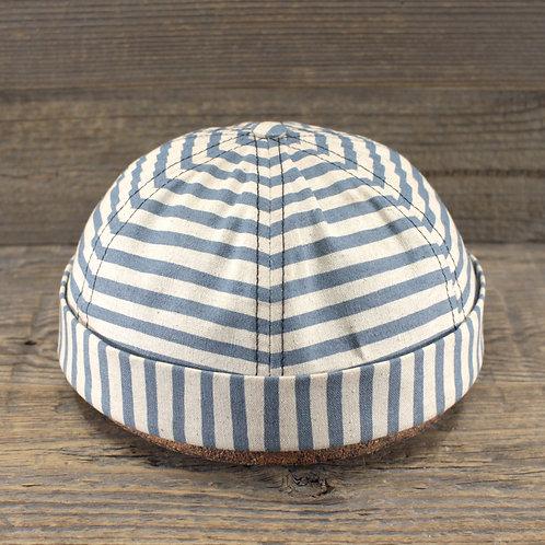 Docker Cap - Oxford Stripes