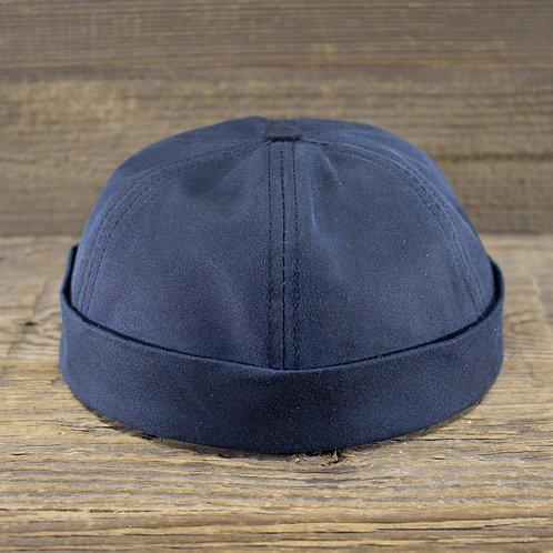 Docker Cap - Blue Wax