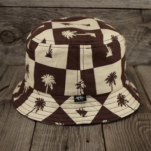 Bucket Hat - Caramel Palms
