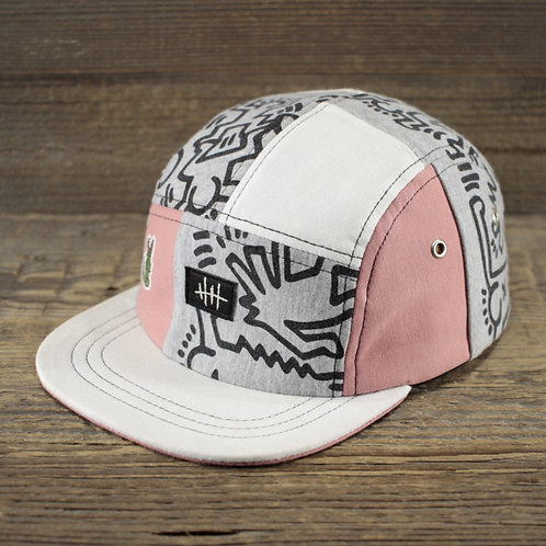 5-Panel - Haring x Lacoste x Chateåu