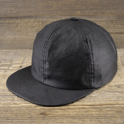 6-Panel Cap - Black Wax