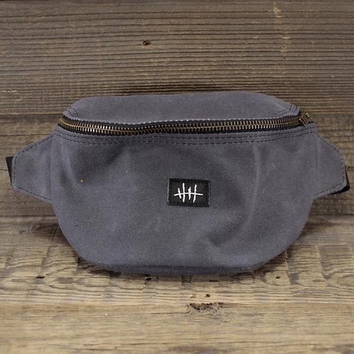 Bum Bag - Grey Wax