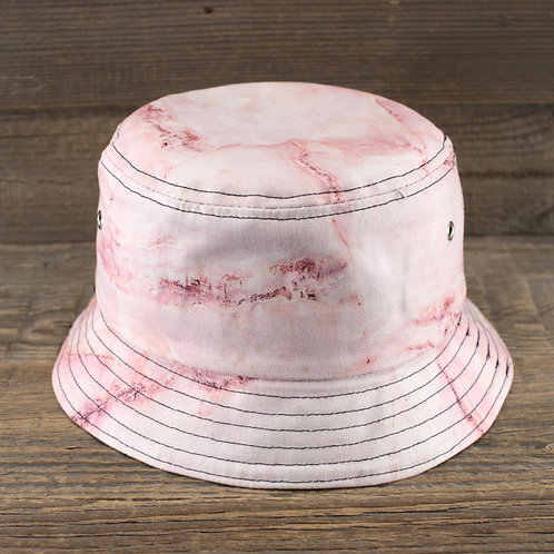 Bucket Hat - Marble Rose