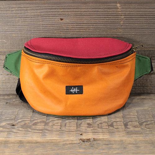 Bum Bag | Wax | orange x red x green
