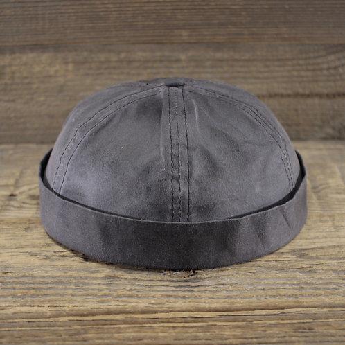 Docker Cap - Grey Wax