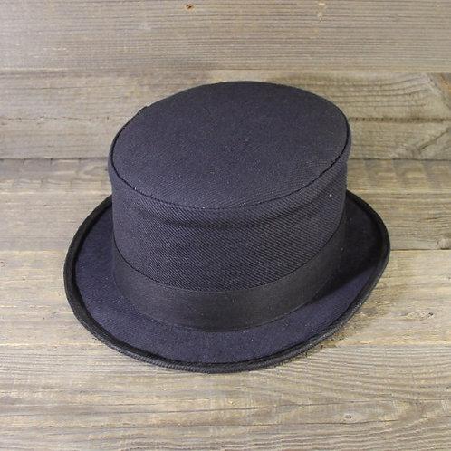 Top Hat - Blue Stripes