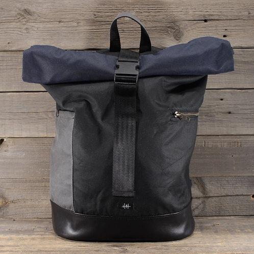 Rolltop - Wax Combination Black, Blue & Grey