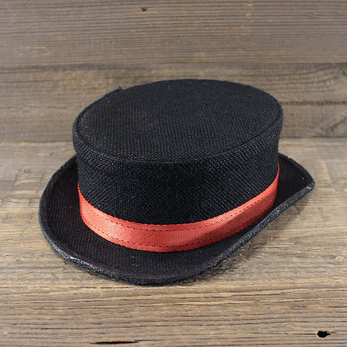 Top Hat - Red Ribbon