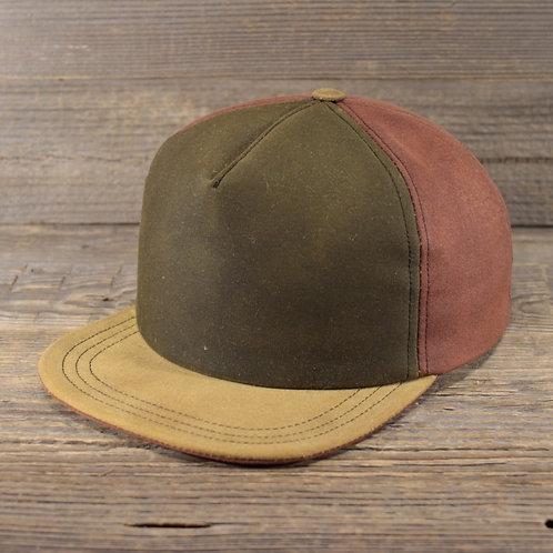 Trucker Cap - Green, Chesnut & Sand
