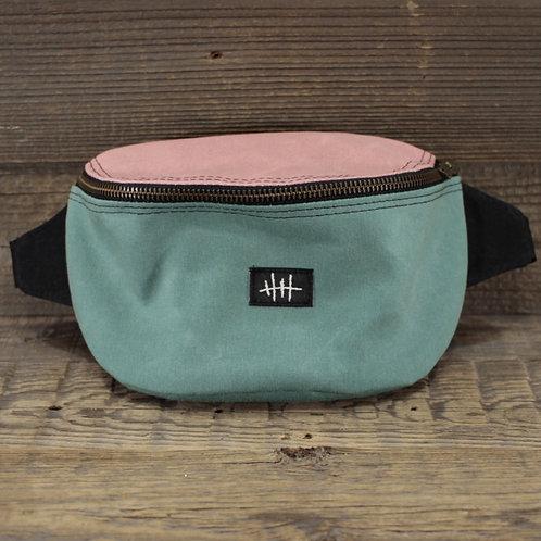 Bum Bag | Wax | pink x black x mint