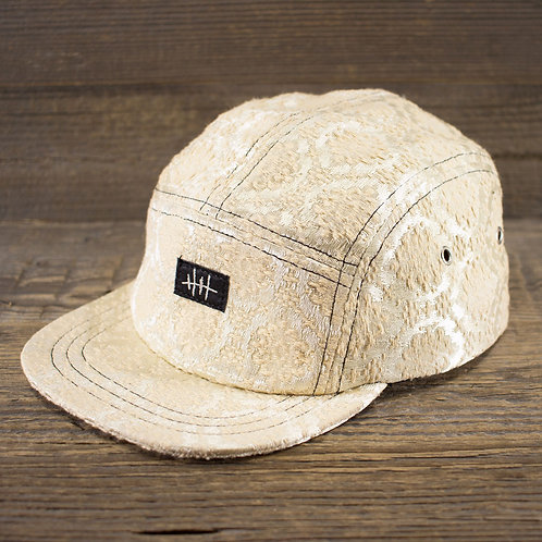 5-Panel Cap - Brocade Cream