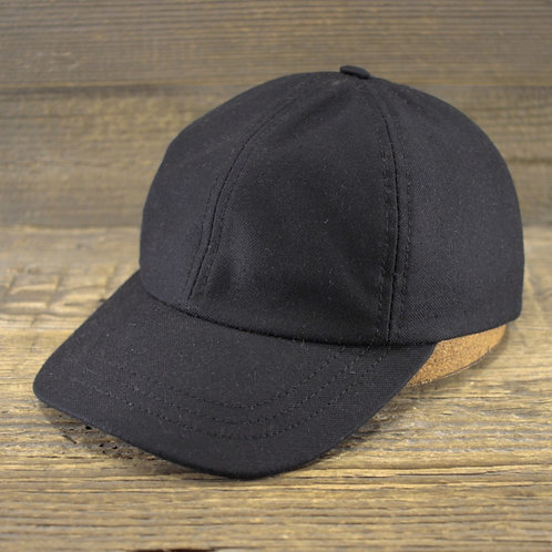 Dad Cap - Black Canvas