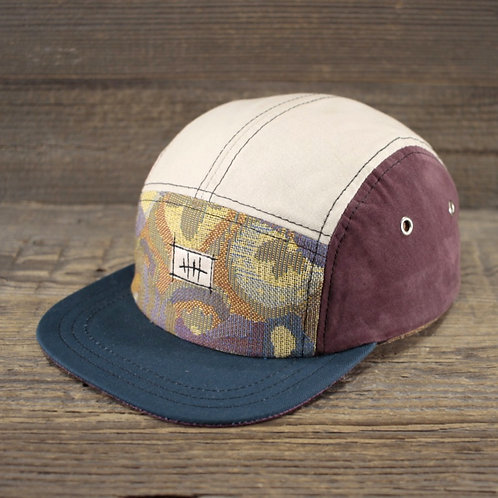 5-Panel Cap - Creamy Crop