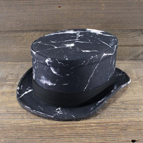 Top Hat - Marble Black