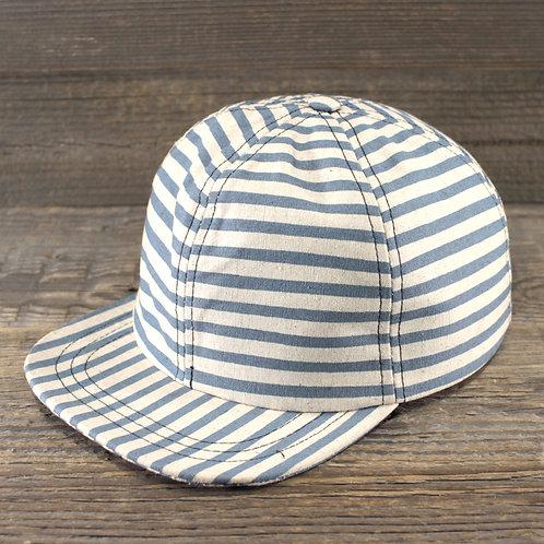 6-Panel Cap - Oxford Stripes