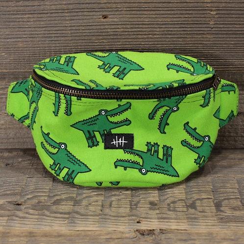 Bum Bag - Green Crocodile!