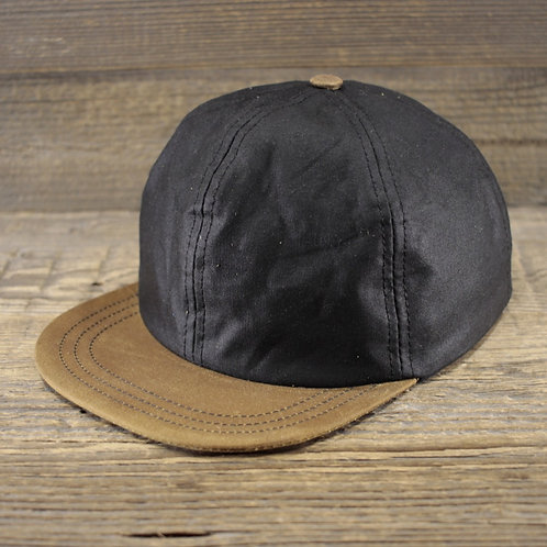 6-Panel Cap - Black Wax & Sand