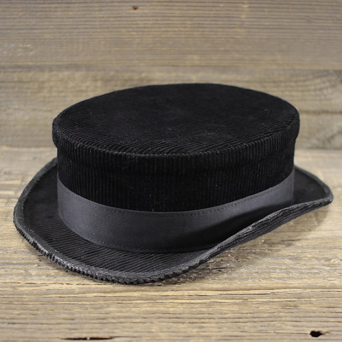 Top Hat - Black Corduroy