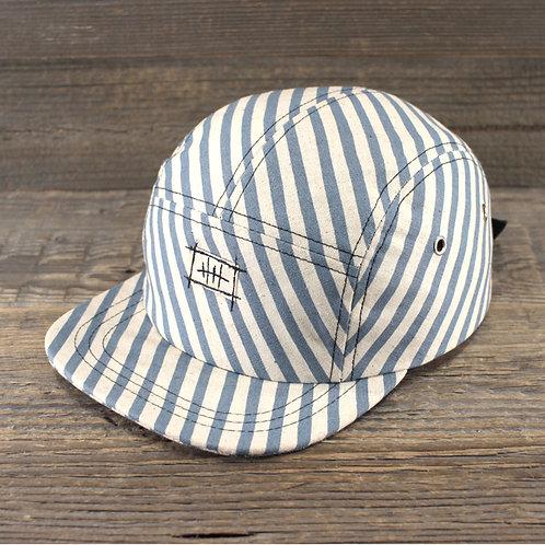 5-Panel Cap - Oxford Stripes