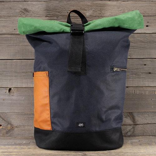 Rolltop - Wax Combination |  blue x orange x green