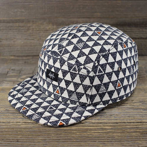 5-Panel Cap - Triangles