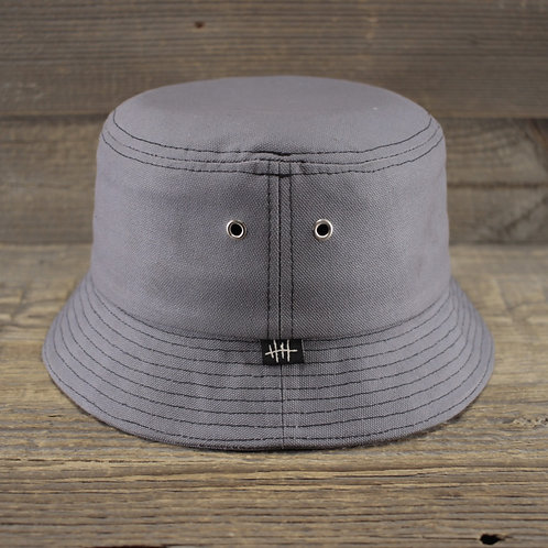 Bucket Hat - GREY CANVAS
