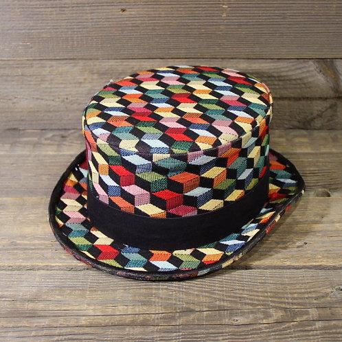 Top Hat - Squares & Colors