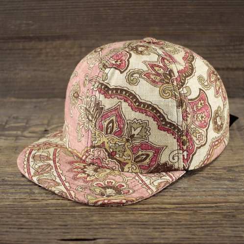 6-Panel Cap - Dusty Rose