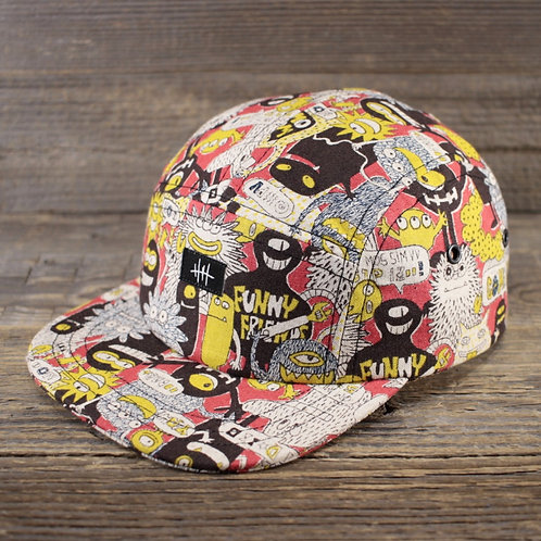 5-Panel Cap - Come on!