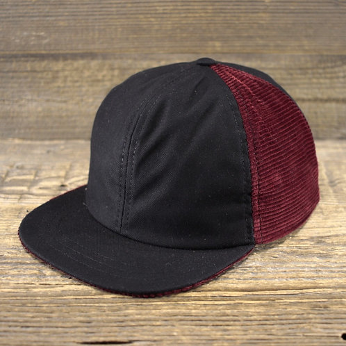 6-Panel Cap - MANCHESTER BLOOD X PANAMA BLACK