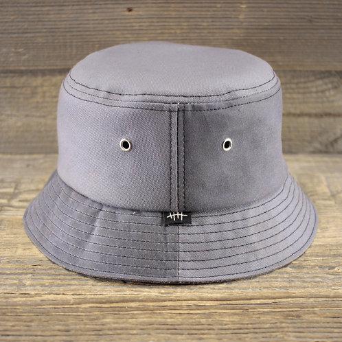 Bucket Hat - Wax & Canvas: Combination Grau