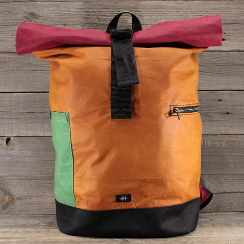 Rolltop - Wax Combination | orange x red x green