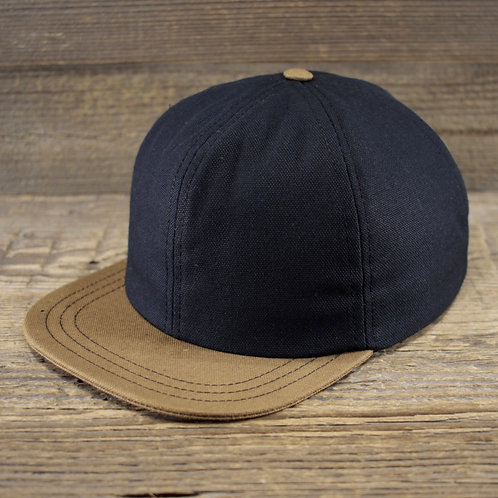 6-Panel - Navy & Sand Canvas