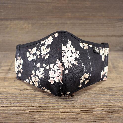Face Mask - Sakura Black V2