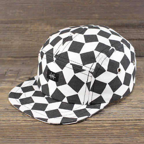 5-Panel Cap - Crooked Checks