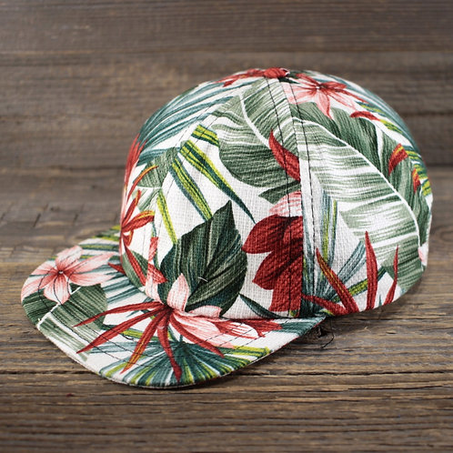 6-Panel Cap - Hawaiian Garden