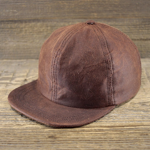 6-Panel Cap - Chestnut Wax