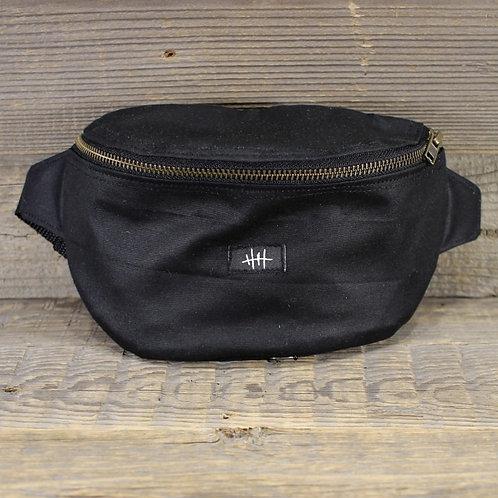 Bum Bag - Black Wax