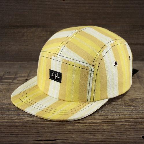 5-Panel - Striped Yellow