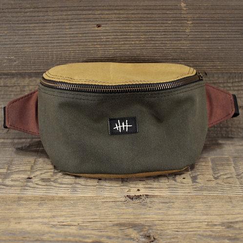 Bum Bag | Wax | green x sand x chestnut