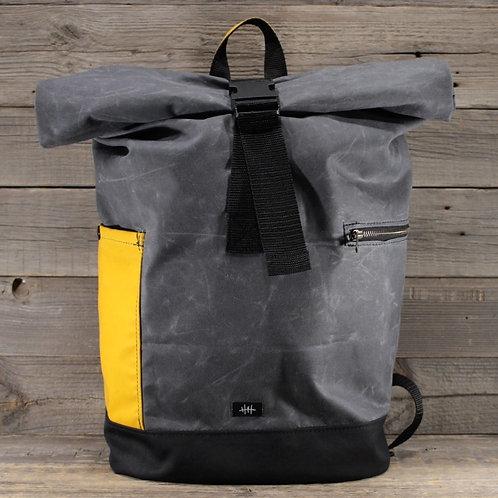 Rolltop - Wax Combination |  grey x yellow x green