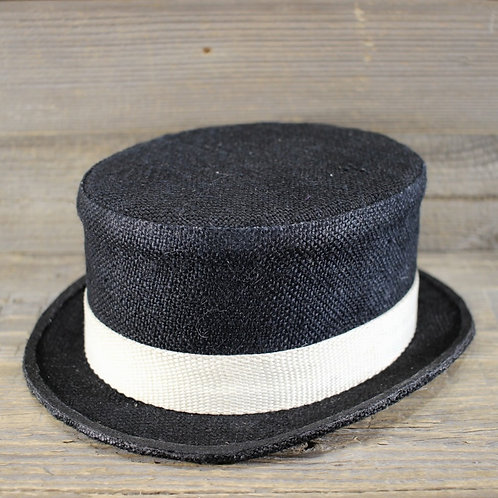 Top Hat - White Ribbon
