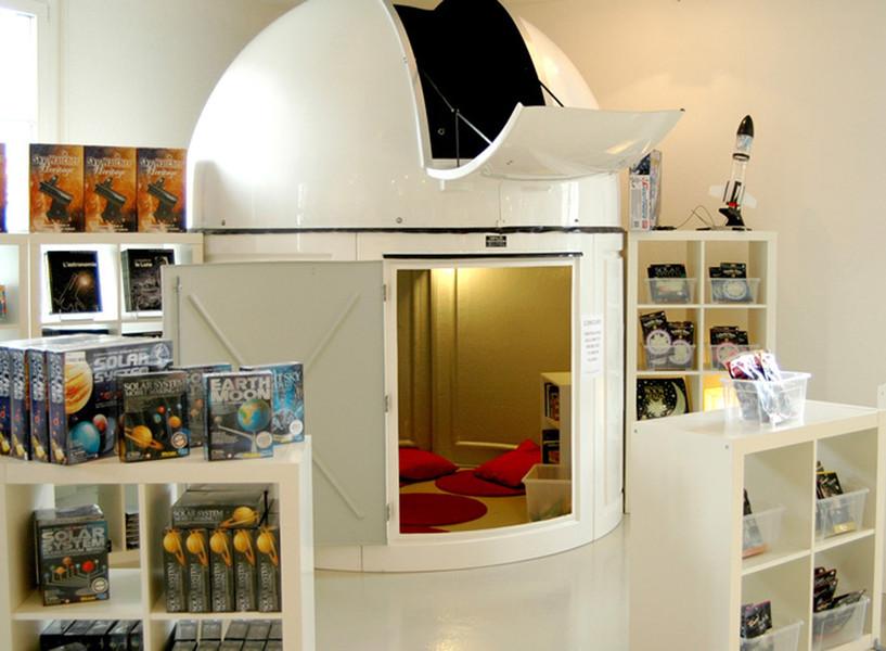 Magasin d'astronomie Rénovation & décoration  © Gris Souris