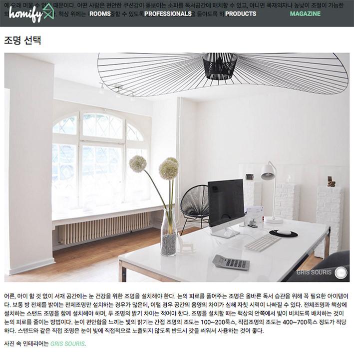 Gris Souris sur Homify Corée
