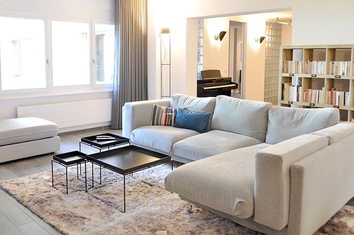Appartement à Prilly Décoration © Gris Souris