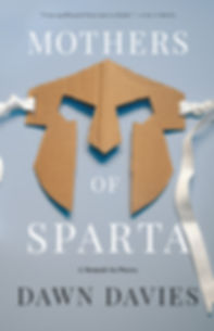Mothers of Sparta hardback book cover