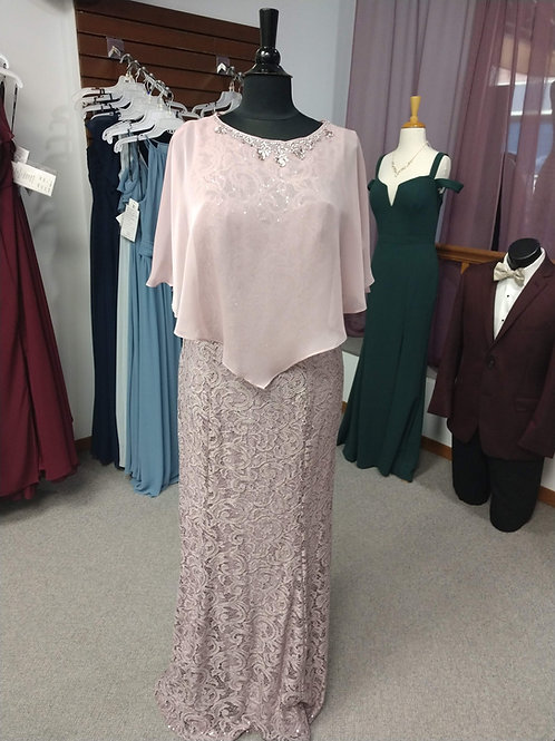 Ignite Evenings New York Floor-Length Dress in Mauve