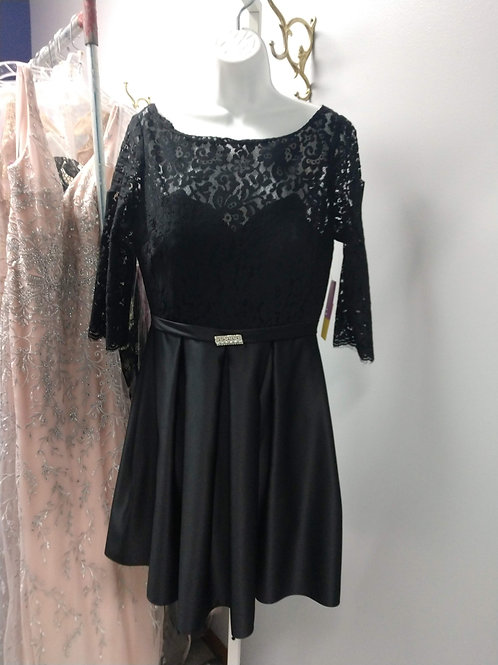 Little Black Dress with 3/4 Sleeves